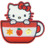 Hello Kitty Patches Tea Cup, , hi-res
