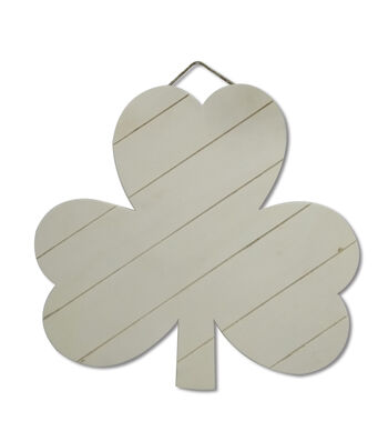 St. Patrick's Day Craft Wood Shamrock Pallet