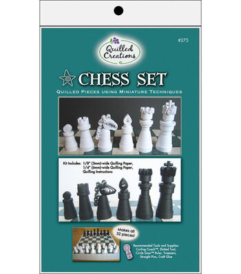 Quilled Creations Quilling Kit-Chess Set
