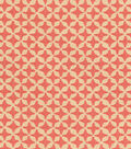 Waverly® Upholstery Fabric 56\u0022-Surat Stamp/Coral