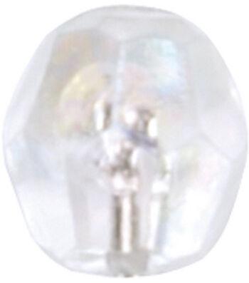 "100pk 3"" Diamond Top Flower Pins"
