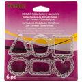 Premo Metal Crinkle Cutters 6/Pk