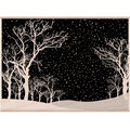 Hero Arts Mounted Rubber Stamps Snowy Night