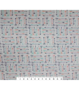 Super Snuggle Flannel Fabric-Breeze Arrows