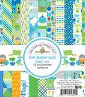 Doodlebug Double-Sided Paper Pad 6\u0022X6\u0022-Dragon Tails