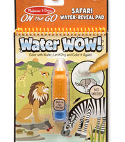 Melissa & Doug ON the GO Water Wow! Water-Reveal Pad-Safari, , hi-res