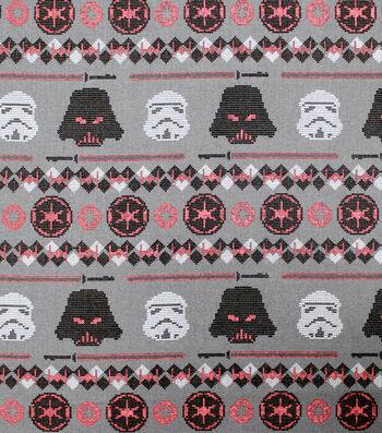Disney Star Wars Christmas Cotton Fabric-Dark Side Sweater