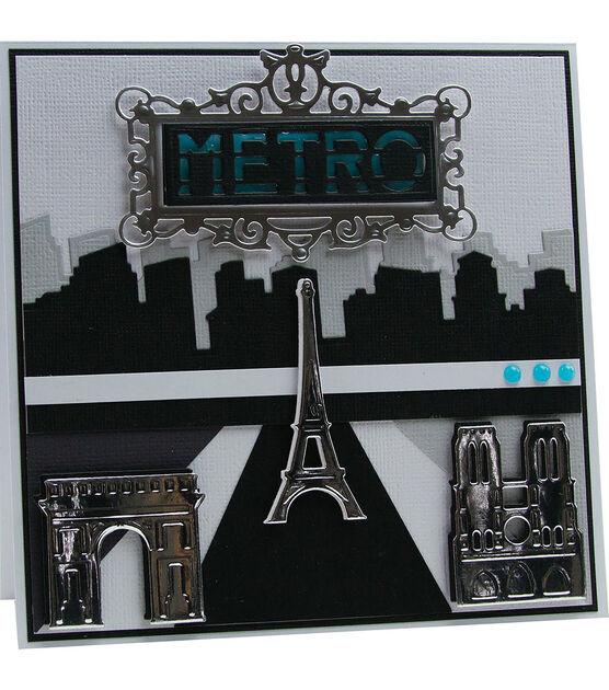 Tonic Studios Rococo Die Ornate Metro Sign, , hi-res, image 5
