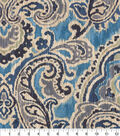 Waverly Upholstery Décor Fabric 9\u0022x9\u0022 Swatch-Artesanias Ikat Bayside
