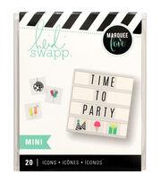 Heidi Swapp Mini Lightbox Icons-Party, , hi-res