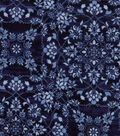 Modern Cotton Fabric -Floral Medallions
