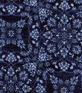 Modern Cotton Fabric 43\u0022-Floral Medallions