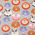 Super Snuggle Flannel Fabric-Donut Friends
