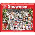 White Mountain Puzzles Jigsaw Puzzle Snowmen