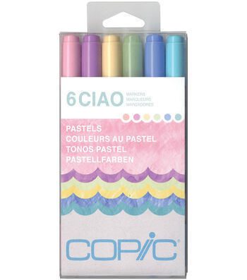 Copic Ciao Markers-Pastels