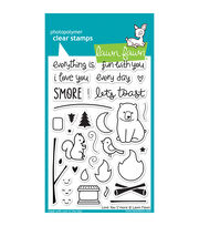 "Lawn Fawn Clear Stamps 4""X6""-Love You S'more, , hi-res"