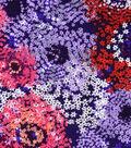 Silky Prints Rayon Fabric -Multi Mini Floral