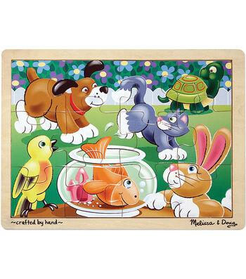 Melissa & Doug Playful Pets Jigsaw (12 pc)