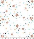Nursery Flannel Fabric-George Stars