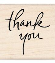 Inkadinkado Rubber Stamp-Thank You, , hi-res