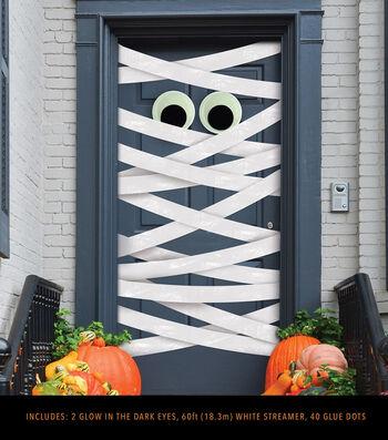 Maker's Halloween Door Decorating Kit-Mummy