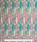 Doodles Cotton Fabric -Arrows & Nomads