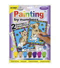My First Paint By Number Value Kits-2PK/Kitten & Puppy