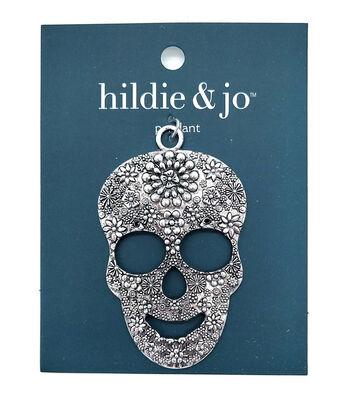hildie & jo Metal Pendant-Skull