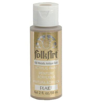 FolkArt 2 fl. oz. Metallic Acrylic Paint