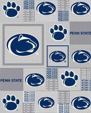 "Penn State Fleece Fabric 60""-Heather Gray Block, , hi-res"