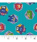 PJ Masks Cotton Fabric 43\u0027\u0027-Badges