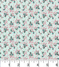Keepsake Calico Cotton Fabric -Floral Mint