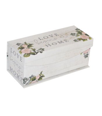 Extra Small Fliptop Storage Box-Floral