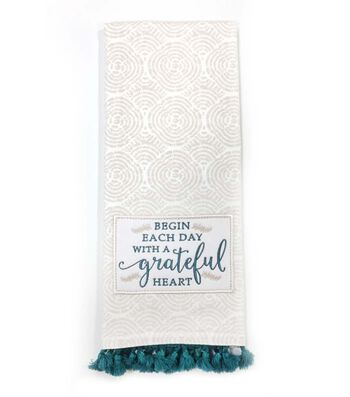 Hudson 43 Pure 16''x28'' French Terry Towel-Grateful