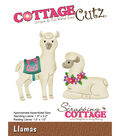 CottageCutz Die-Llamas 1.4\u0022 To 2.2\u0022