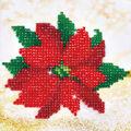 Diamond Dotz Diamond Embroidery Facet Art Kit 8\u0027\u0027X8\u0027\u0027-Poinsettia