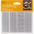 Cricut Cuttlebug Pack of 4 Confetti Dies-All Girl