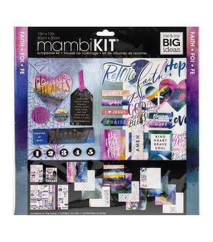 Me & My Big Ideas Page Kit 12''X12''-Colorful Faith