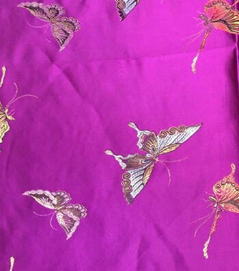 Brocades Fabric -Butterfly