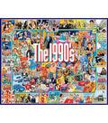 White Mountain Puzzles 1000 Pieces 24\u0027\u0027x30\u0027\u0027 Jigsaw Puzzle-The Nineties
