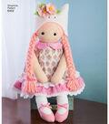 Simplicity Pattern 8402 23\u0027\u0027 Stuffed Doll with Clothes