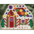 Mill Hill Counted Glass Bead Kit with Treasure-Gingerbread Cottage