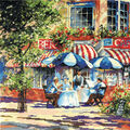 Tobin Counted Cross Stitch Kit Cafe In The Sun