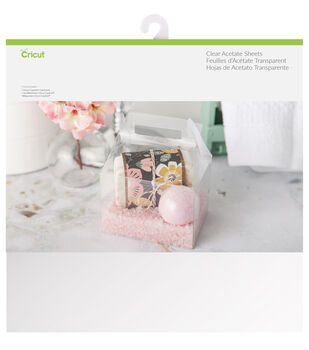Cricut 6 Pack 12''x12'' Acetate Sheets-Clear