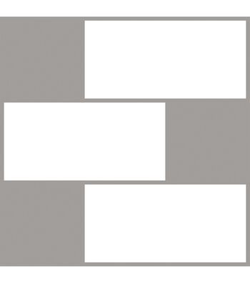 Wallpops NuWallpaper Peel & Stick Backsplash Tiles-Subway Tile