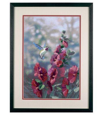 Dimensions Crewel Kit Hollyhock's In Bloom Gallery