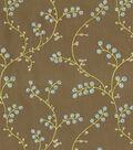 Home Decor 8\u0022x8\u0022 Fabric Swatch-Waverly Indochine Emb Shitake