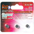 Cornerstone Products 3 pk The Knit/Crochet Lite Replacement Batteries