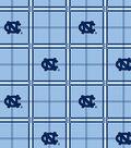 University of North Carolina Tarheels Flannel Fabric 42\u0022-Plaid