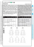 Mccall Pattern V8690 Y (Xsm-Sml-Vogue Pattern